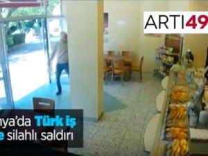 Almanya'da Türk iş yerine silahlı saldırı