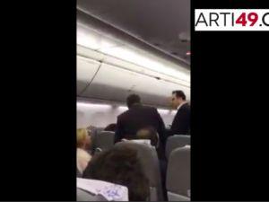 THY uçağında yalan skandalı