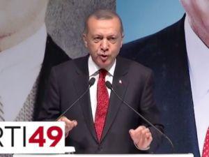 Erdoğan: Burası Çatladıkapı ülkesi mi ya?