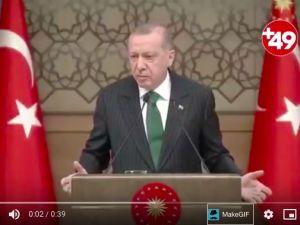 Erdoğan, dikey mimariyle malı götürenlere kızdı