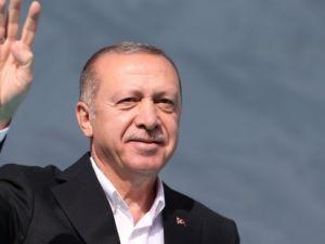 Erdoğan: Şimdi elhamdülillah varlık kuyruğu var