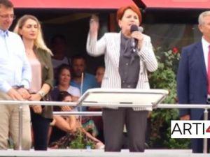 Meral Akşener ve Mansur Yavaş, Ekrem İmamoğlu'na destek için İstanbul'da