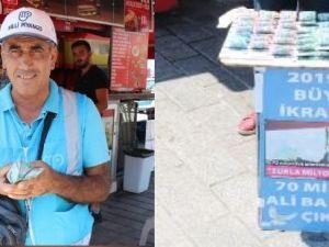 70 milyon lira kazan gurbetçiden bir telefon bekliyor