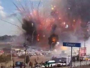 Meksika'da havai fişek faciası: 27 ölü, 60 yaralı
