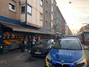 PKK yandaşları, Nürnberg'de Türk marketine saldırdı
