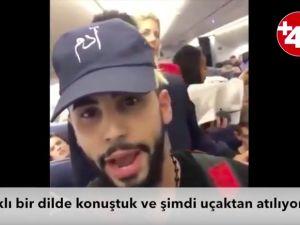 Arapça konuştular diye, uçaktan indirildiler