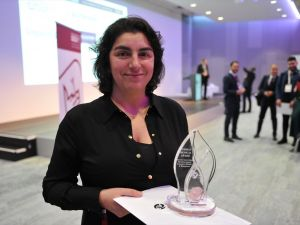 Dr. Dilek Gürsoy, Alman Tıp Ödülü'nü aldı
