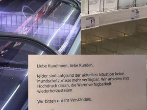 Almanya'da raflar boşaldı