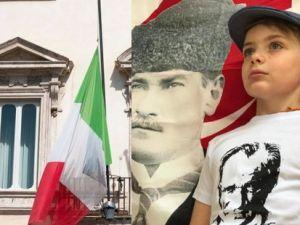 İtalyan çocuktan, Türkiye'ye teşekkür mesajı
