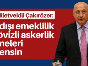 Çakırözer: Yurt dışındaki Türkler unutulmamalı
