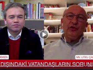 CHP'li Çakırözer, yurt dışındaki Türklerin sorunlarını dinledi