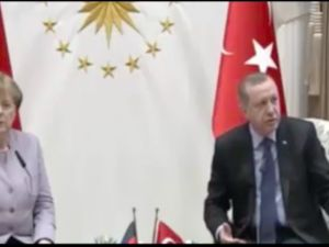 Merkel-Erdoğan ortak basın toplantısı
