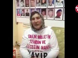 Şehit annesinden Sedat Peker'e referandumda 'Hayır' mesajı